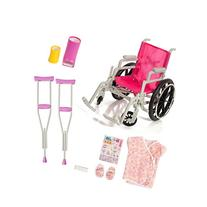 Beverly Hills Doll Collection Wheelchair Set for 18 Inch