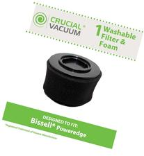 Crucial Vacuum Replacement Air Filter - Washable Dust Cup