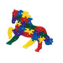 Bits and Pieces - Horse Shaped Alphabet Puzzle - ABC puzzle
