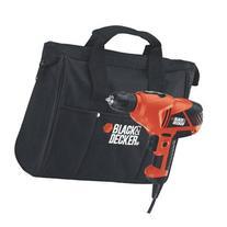 """Black & Decker Drill Driver 3/8 """" Keyless 0-1500 Rpm 5.2 Amp"""