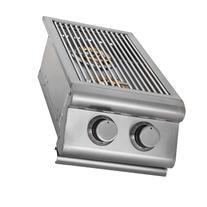 Slide-In Gas Double Side Burner Gas Type: Propane