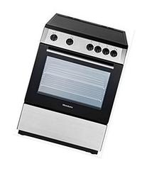 BERU24200SS Electric Range with Ceramic Top, Non-Convection