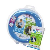 Blue Potette Plus Port-a-potty Training Potty Travel Toilet
