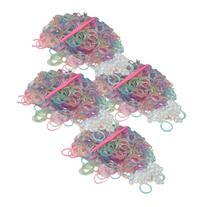 BlueDot Trading 2400-Piece Multicolor Glitter Rubber Bands