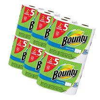 Bounty Select-a-Size Paper Towels, White, Huge Roll, 12