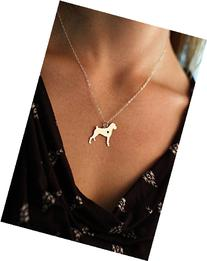 Boxer Dog Necklace - German - IBD - Personalize with Name or