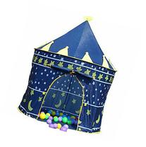 Boy Knight's Castle Hut Ball Pit Indoor&outdoor Pop Up Kids