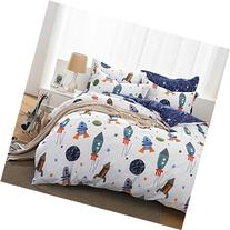 Brandream Boys Galaxy Space Bedding Set Kids Bedding Set