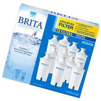 Brita Pitcher Replacement Filters, 10 Pack