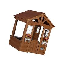 Brown Modern Wooden Kids Playhouse | Contemporary Spacious