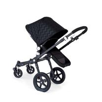 Bugaboo Bee³ Sun Canopy Shiny Chevron Black Intense