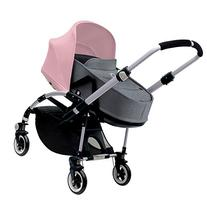 Bugaboo Bee3 Bassinet & Sun Canopy - Soft Pink - Grey
