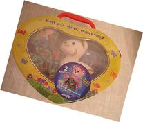 Build - A - Bear Workshop Rainbow Teddy Heart Tin