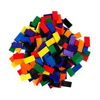 Bulk Dominoes Plastic Mixed Colors 100pcs