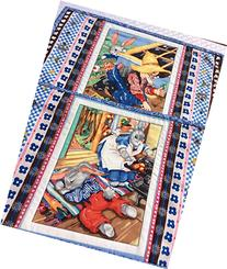 Bunny Tales Placemat Quilted Handmade Homemade Table Quilt