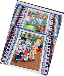 Bunny Tales Placemats Quilted Spring Easter Handmade