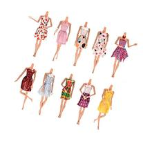 """Buytra 10pcs Handmade Gorgeous 11"""" Barbie Doll Party Clothes"""