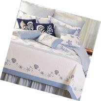C & F Enterprises Treasures by The Sea Collection Quilt, 90