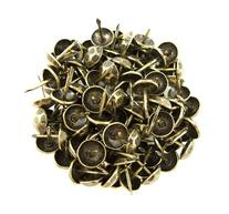 C.S. Osborne Oxford Hammered Nail Tacks Antique Brass 100pk