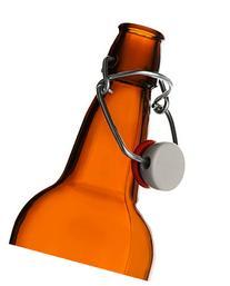 CASE OF 12 - 16 oz. EZ Cap Beer Bottles - AMBER, Garden,