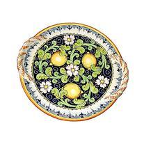 CERAMICHE D'ARTE PARRINI - Italian Ceramic Centerpiece Flat