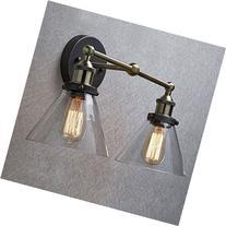 CLAXY Ecopower Simplicity Industrial Edison Antique Glass 2-