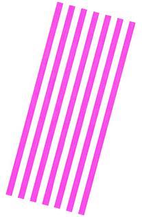 Cabana stripes pink color velour brazilian beach towel 30x60