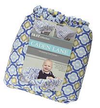 Caden Lane Ikat Collection Chevron Shopping Cart Cover, Blue