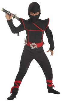 California Costumes Toys Stealth Ninja, Small