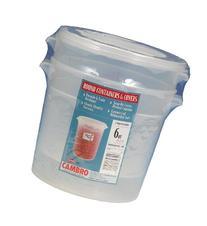 Cambro RFS6PPSW2190 6-Quart Round Food-Storage Container