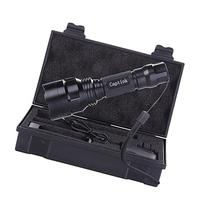 Captink Q5 Outdoor Waterproof Tactical LED Flashlight with 5