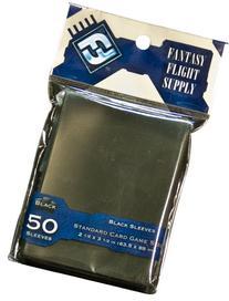 Card Sleeves: Standard Black