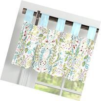 Carousel Designs Bebe Jardin Window Valance Tab-Top