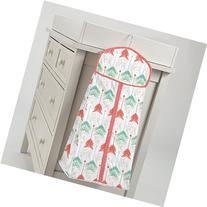 Carousel Designs Coral and Teal Arrow Diaper Stacker