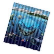 SANMOU Cartoon White Shark Underwater Nemo Clown Fish Custom