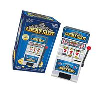 Casino Lucky Slots Jackpot Mini Slot Machine Bank with