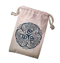 Celtic Wolf Tarot Bag