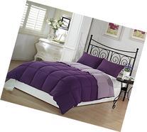 Chezmoi Collection 3-Piece Purple Lilac Super Soft Goose