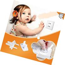 Childproof Safety Electrical Plug Covers Outlet Cap-12 Count