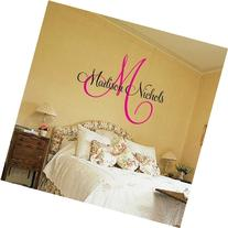 Childrens Decor Baby Nursery Wall Decal - Monogram Vinyl