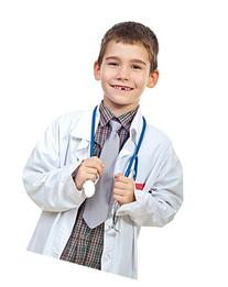 Childrens Lab Coat--Soft Touch