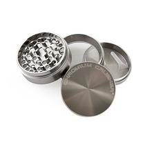 Chromium Crusher 2.5 Inch Zinc 4 Piece Tobacco Spice Herb