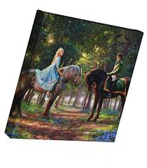 Cinderella Romance Awakens - Thomas Kinkade Studios Disney
