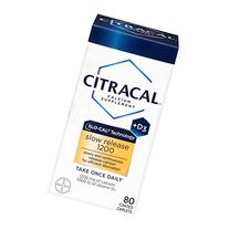 Citracal with Calcium D Slow Release 1200, 80-Count