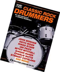 Classic Rock Drummers - The Way They Play Series  Book/CD