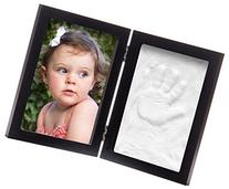Clay Baby Handprint & Footprint Desktop Picture Frame by