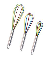 Clearance Sale - Ouddy Colorful Silicone Whisk, Balloon
