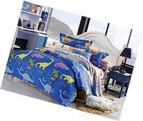 Cliab Dinosaur Bedding Queen Kids Bedding Queen Size 100%