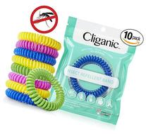 Cliganic Natural Mosquito Repellent Bracelet Waterproof | 10