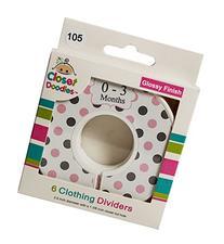 Closet Doodles C105 Pink Gray Polka Dot Chevron Girl Baby